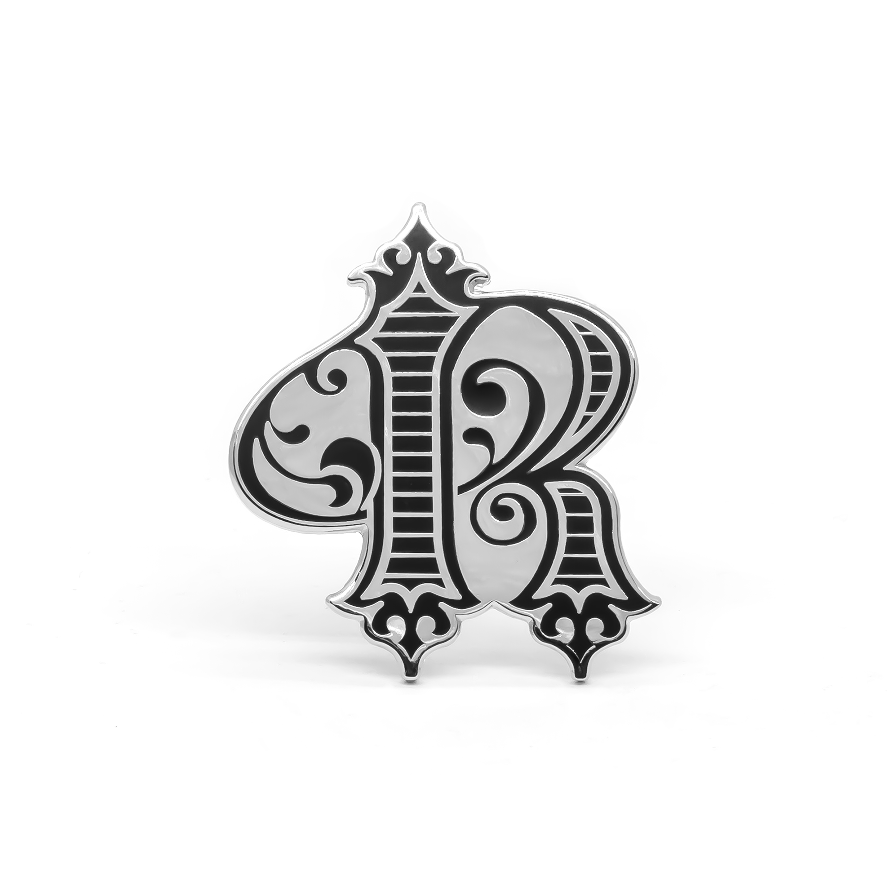 The Royale SF enamel pin