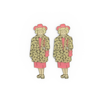 SF Twins enamel pin set