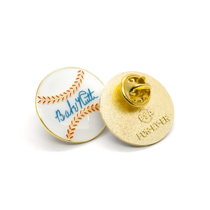 Baseball & Shoe enamel pin set