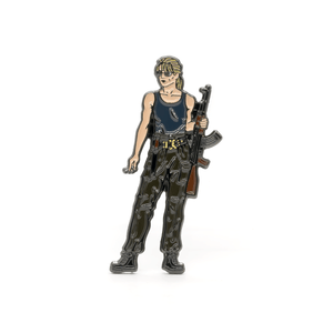 Sarah Connor enamel pin