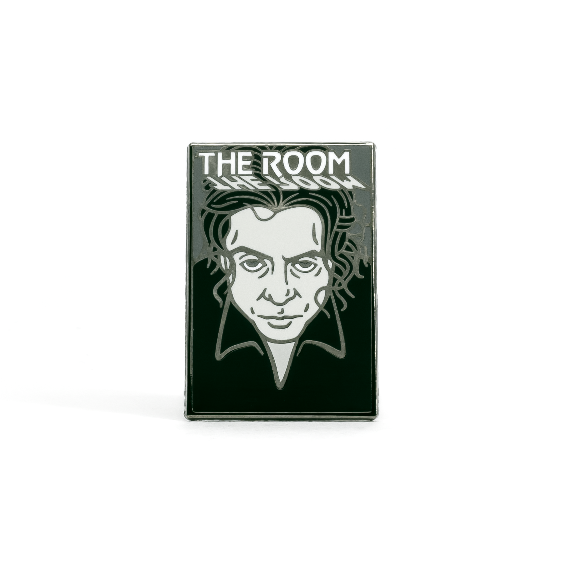 The Room enamel pin