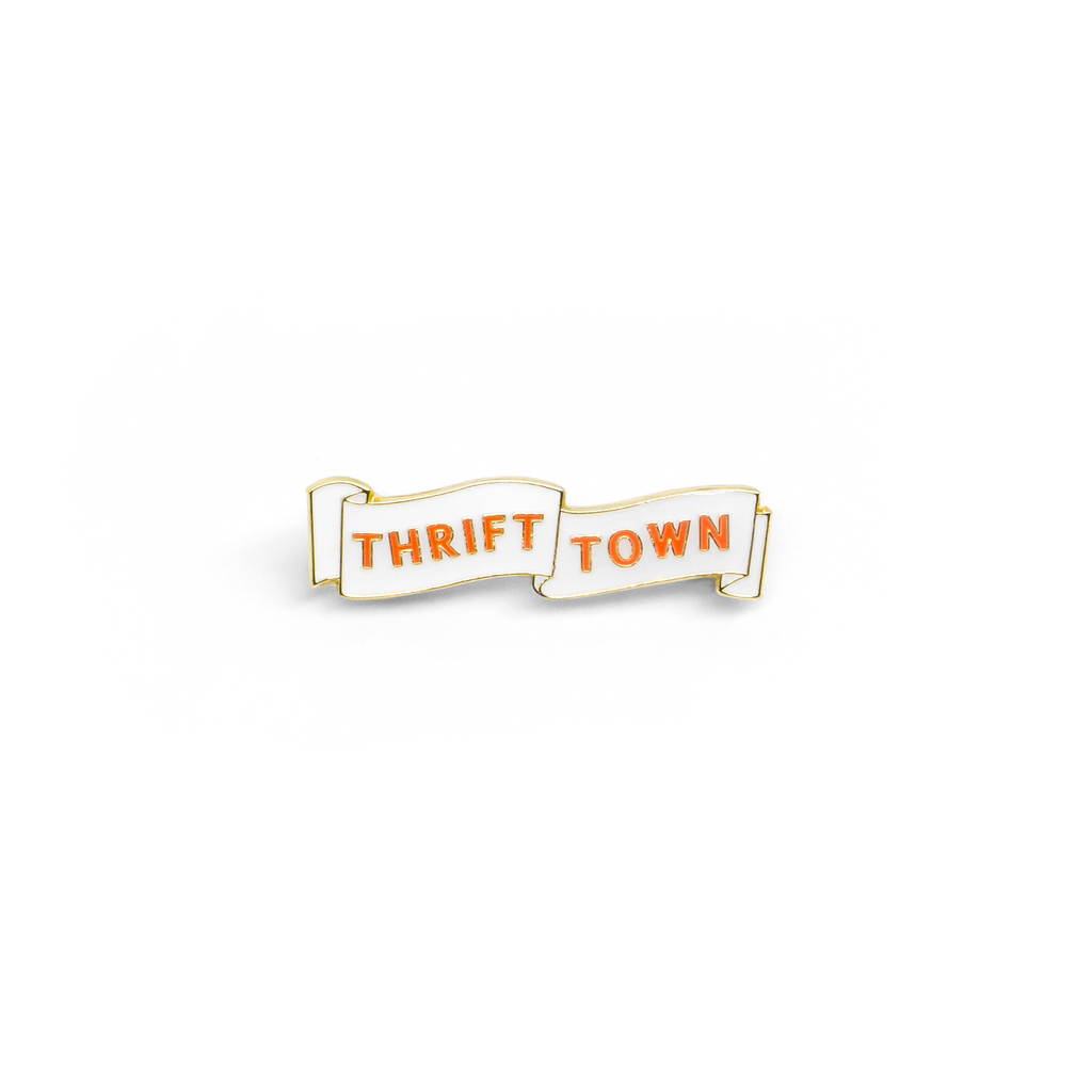 Thrift Town enamel pin