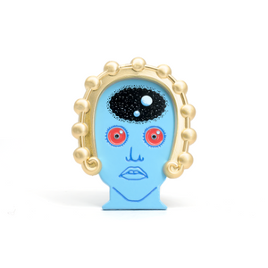 Tiva (Fantastic Planet) enamel pin and magnet