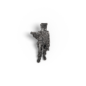 Gunmetal Edition Zodiac Killer pin