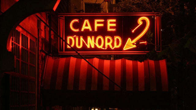 Cafe Du Nord enamel pin