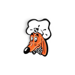 Doggie Diner Head enamel pin
