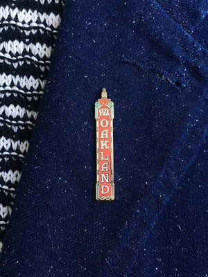 Fox Theater Oakland (Day) enamel pin