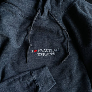 I ♥ PRACTICAL EFFECTS HOODIE