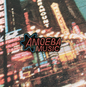 Amoeba Music Neon Sign II enamel pin