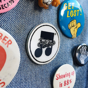 Mike Krol enamel pin