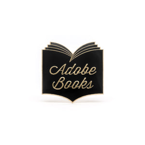 Adobe Books enamel pin