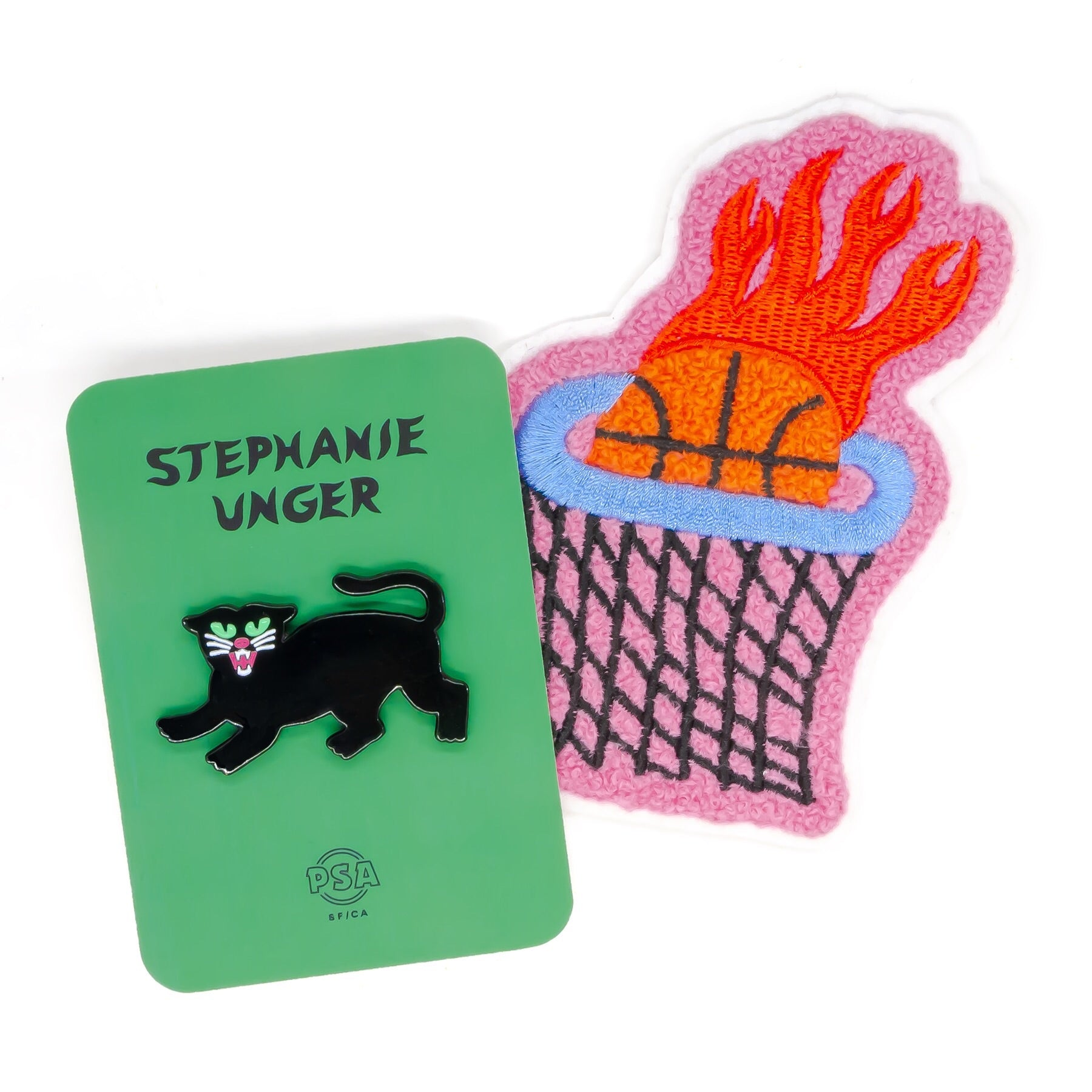 Stephanie Unger pin and patch set