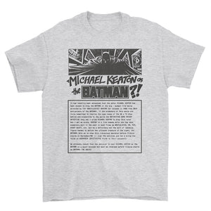 Keaton Batman Petition T-Shirt