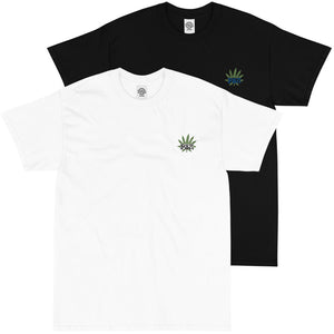 Leaf Embroidered T-Shirt
