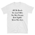 All The Bands T-Shirt (White)