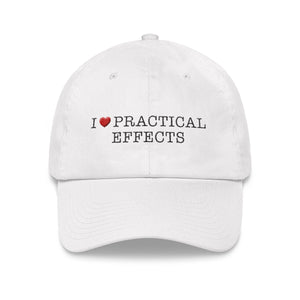 I ♥ PRACTICAL EFFECTS EMBROIDERED HAT