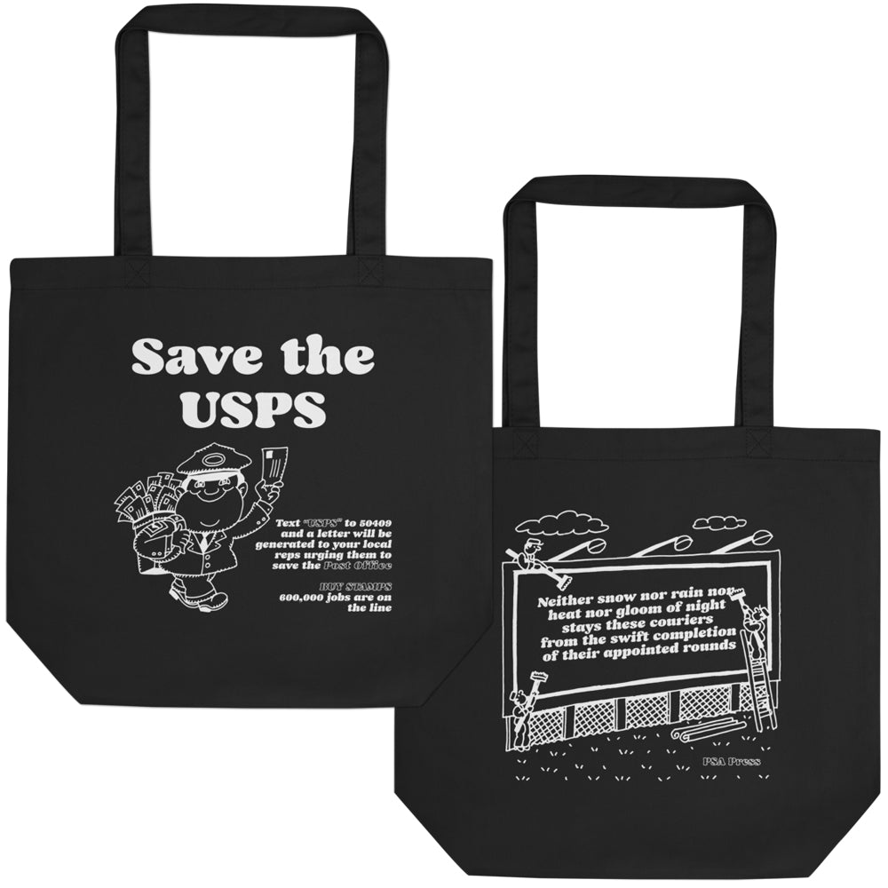 Save The USPS bag
