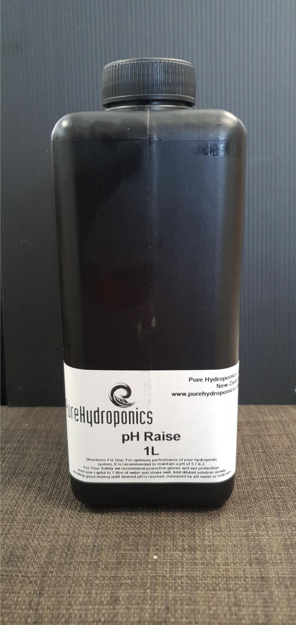 Pure Hydrophonics pH Raise 1L