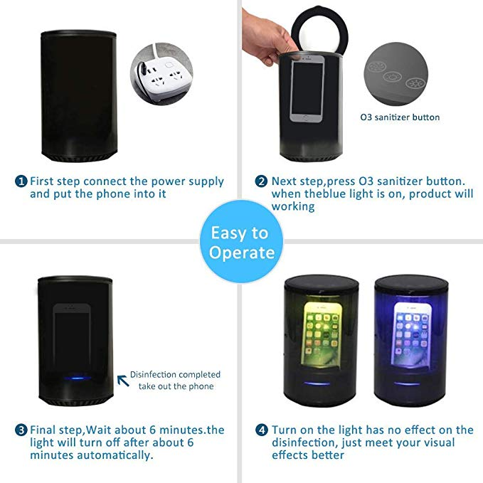 Smart Phone Sanitizer & CHARGER