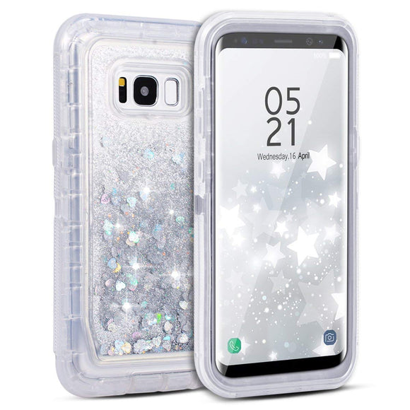 Galaxy S8 Plus Case, 3D Bling Sparkle