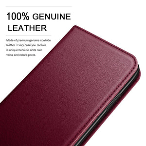 Wine - Wallet Case (Detachable)