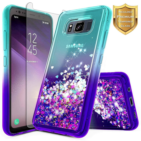 Galaxy S8 Active Glitter Case