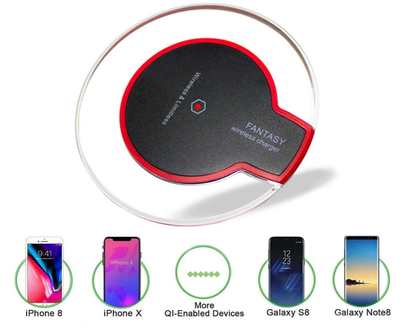 Transparent Wireless Charger