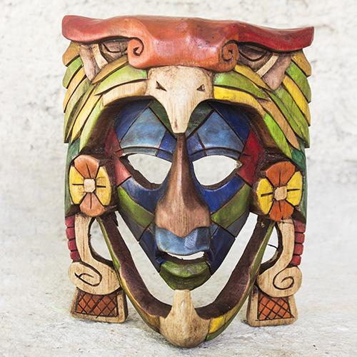 Masque de guerrier Aigle - Mayanart-shop