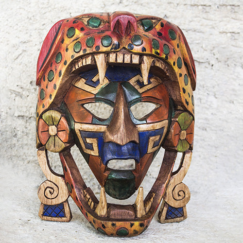 Masque de guerrier Jaguar - Mayanart-shop