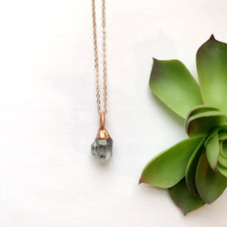 Dainty Herkimer Diamond Necklace