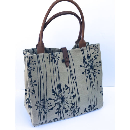 Navy Starburst Safari Tote