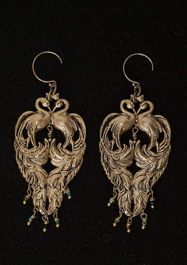 Peacock Revival Earrings
