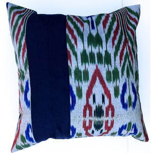 Navy Ripple Pillow