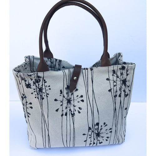 Tan Starburst Safari Tote