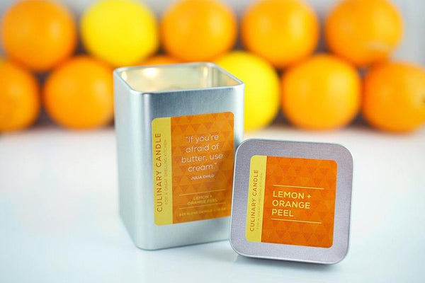 Lemon & Orange Peel Culinary Candle