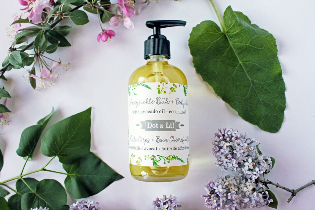 Honeysuckle Bath + Body Oil