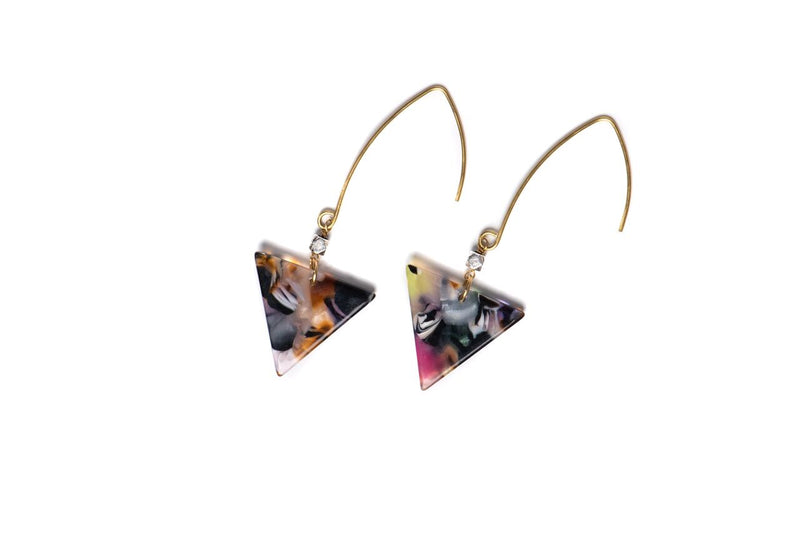 Zoe Tortoise Earrings