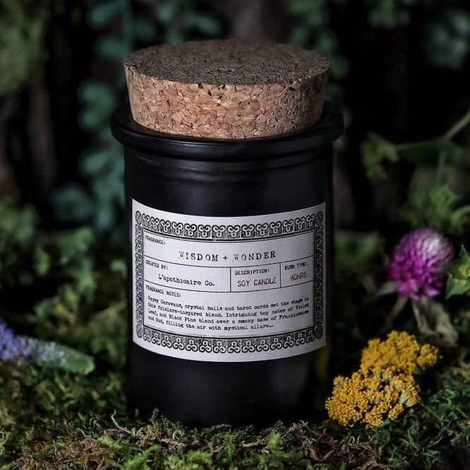 Wisdom + Wonder Apothecary Candle