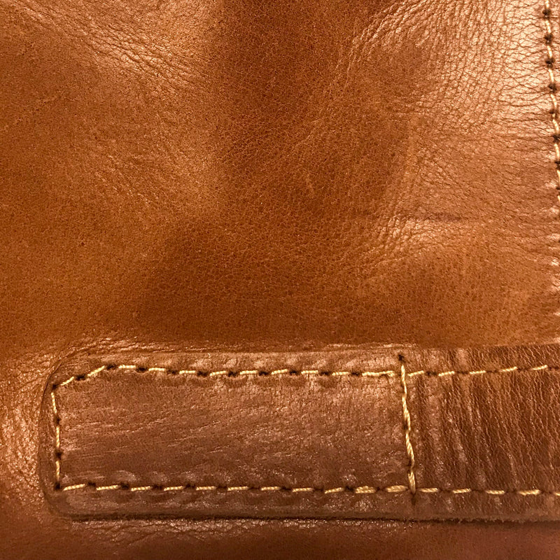 Cross-body Leather Bag