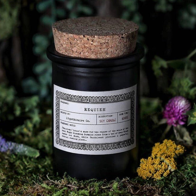 Requiem Apothecary Candle