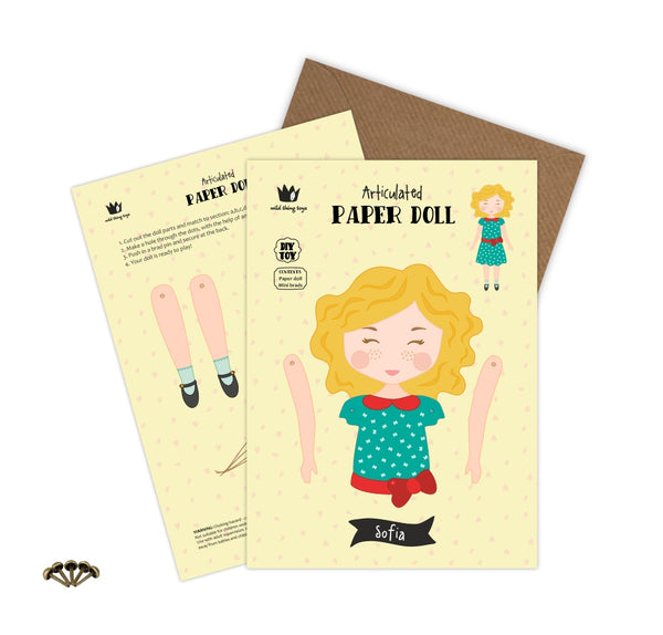 The Sofia Paper Doll