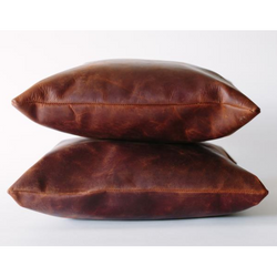 Sangre Leather Pillow