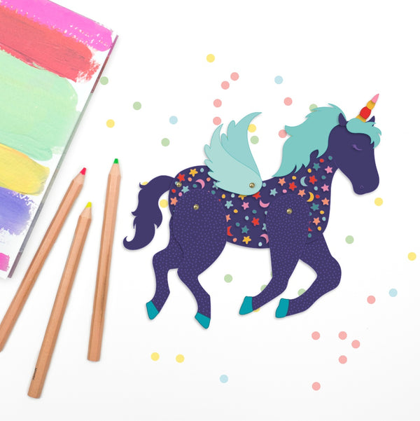 Unicorn Paper Doll