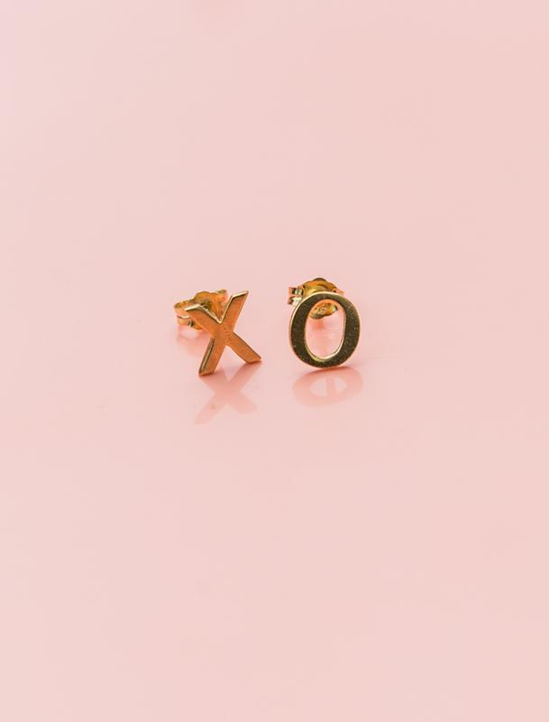 XO Stud Earrings