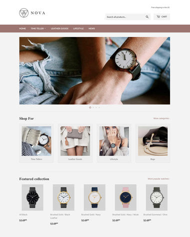 Supply Shopify theme