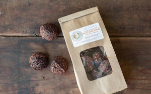 Dark Chocolate Macaroons, 1/2lb bag, gluten-free/raw/vegan