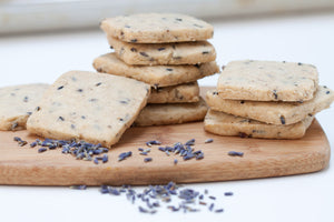 Lavender Shortbread - 1 dozen (made to order), vegan
