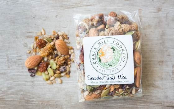 Sprouted Trail Mix, 5oz, gluten-free/raw/vegan