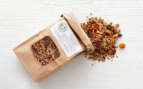 Sprouted Buckwheat Granola, 12oz, gluten-free/raw/vegan