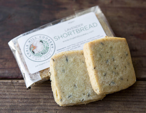 Lavender Shortbread - 2 pack, vegan